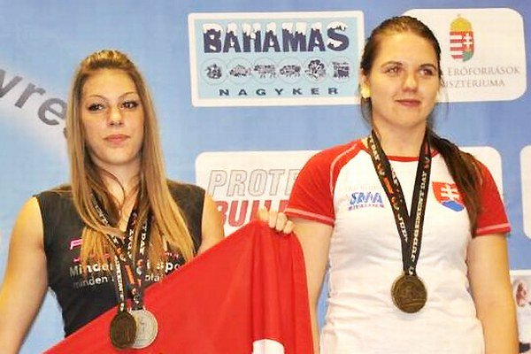 Andrea Kušnieriková (vpravo) mala fantastický rok 2014.
