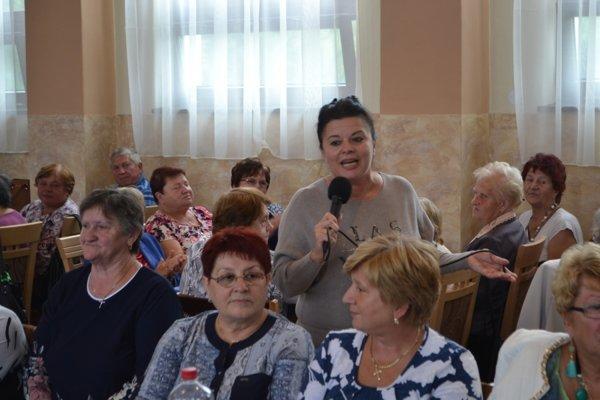 Seniorom prišla zaspievať Jadranka.