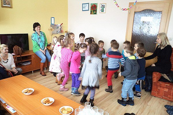 Deti rozveselili obyvateľov domova.