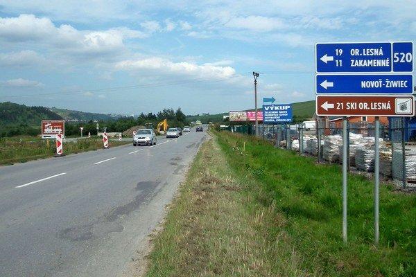 Kanalizácia vHruštíne, sanácia zosuvu na Príslope anajnovšie aj križovatka vLokci predĺžia cestu zKubína do Námestova.