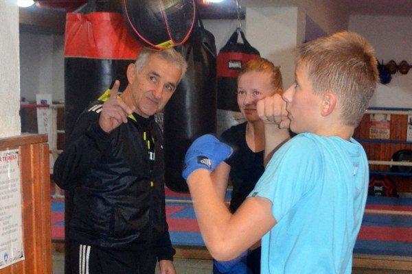 Alex Triebeľ pod dohľadom skúseného ukrajinského trénera.