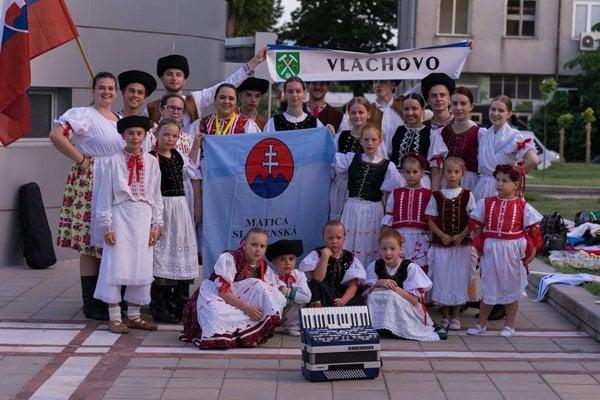 Detský folklórny súbor Malý Stromíš.