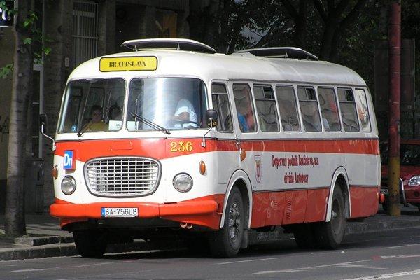 Autobus Škoda 706 RTO MTZ.
