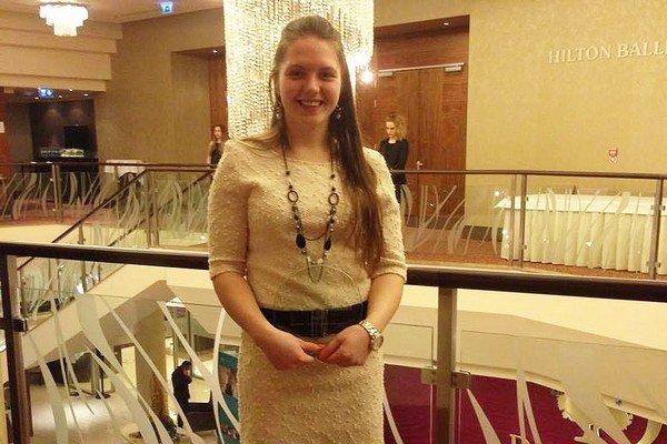 Andrea Kušnieriková mala na slávnostnom vyhodnotení dôvod na úsmev.