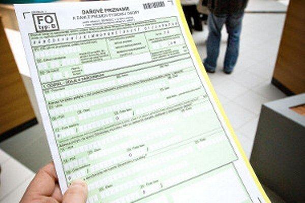 Niektoré obce nemajú v poriadku daňové priznania od svojich daňovníkov.