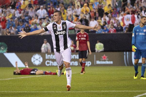 Futbalisti Juventusu strelili Bayernu dva góly.