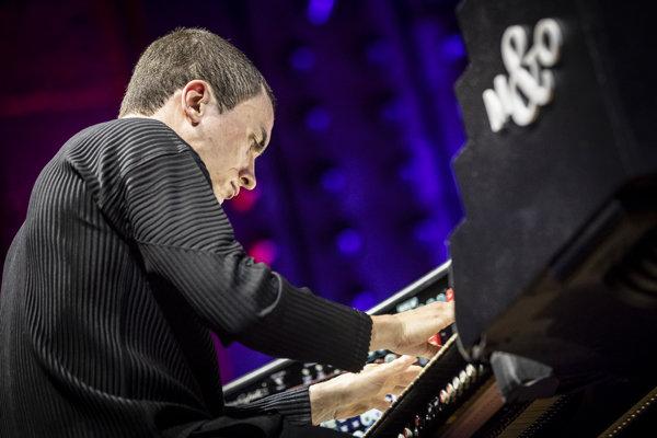 Cameron Carpenter na koncerte v Slovenskom rozhlase.