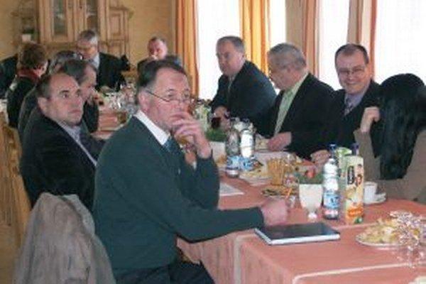 O programe Leader rokovali aj starostovia na ostatnom ZMOHO.