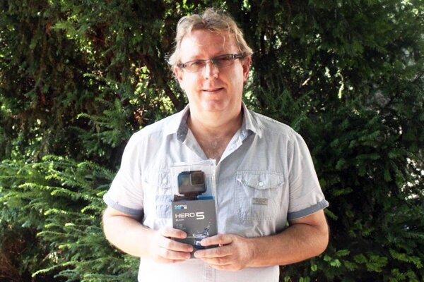 Jozef Filo si odniesol akčnú kameru GoPro.