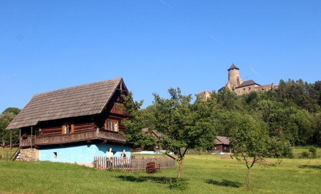 Skanzen a hrad v Ľubovni