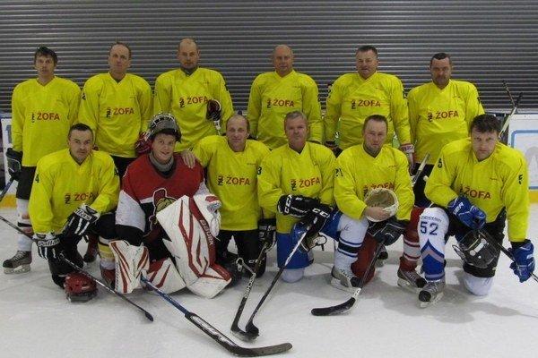 Hokejisti Oravskej Jasenice.