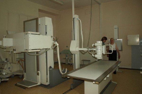 Starý röntgen nahradí digitálny.