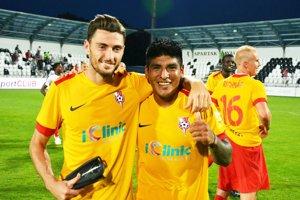 Premiéroví strelci za Sereď v prvej lige - Nikola Gatarič a Aldo Omar Baéz.