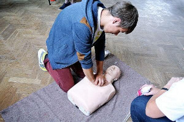 Výučba prvej pomoci v najväčšej oravskej obci.