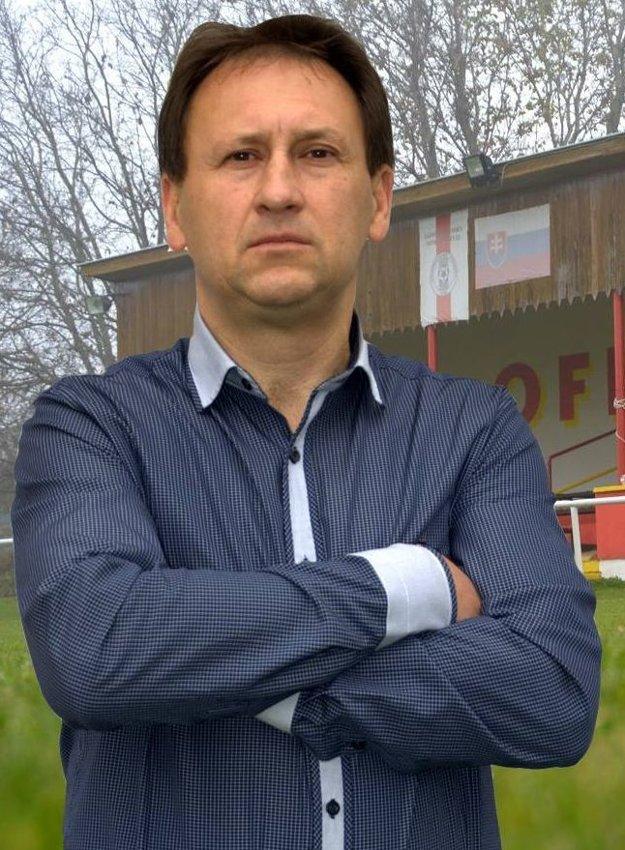 Starosta Krtoviec Juraj Oravec.