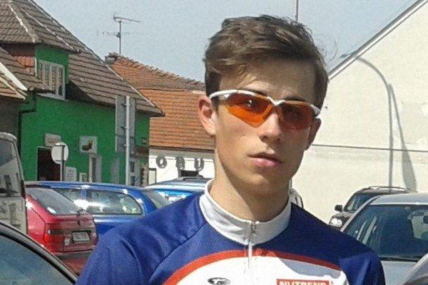 Tomáš Salák je veľký cyklistický talent.