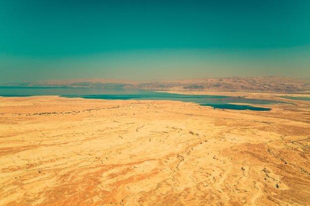 Púšť v okolí Mŕtveho mora