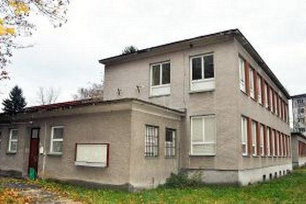 Súčasný stav bývalého CVČ Domček.