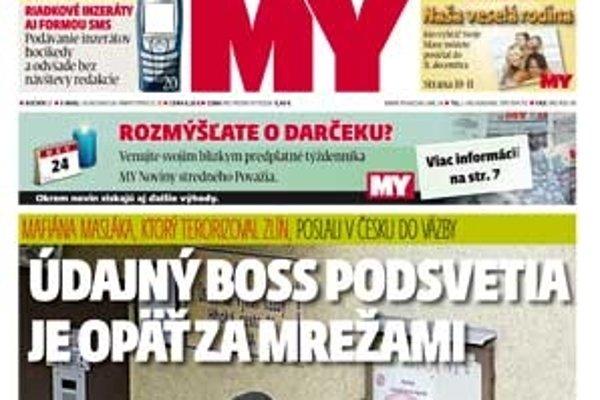 My Noviny stredného Považia už v predaji.