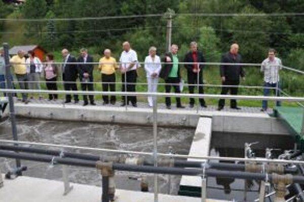 Nová čistička zlepší kvalitu vody v Zázrivke.