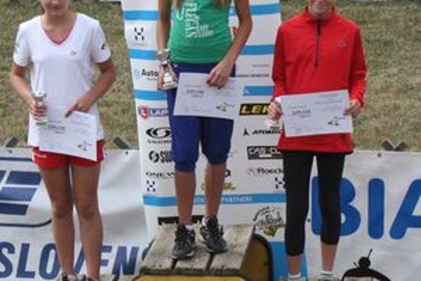 Druhá Durčáková skončila za víťazkou Graňákovou.