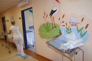 Novorodenecké oddelenie.