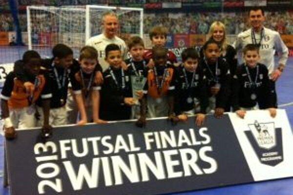 Víťazné družstvo futsalového turnaja.
