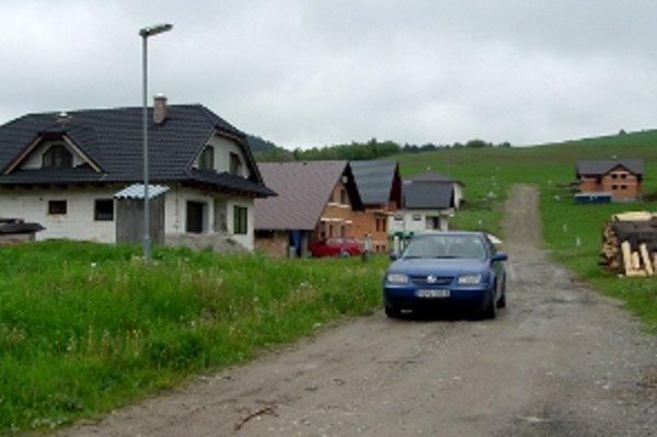 Sihly - nová obytná časť bielooravskej obce.