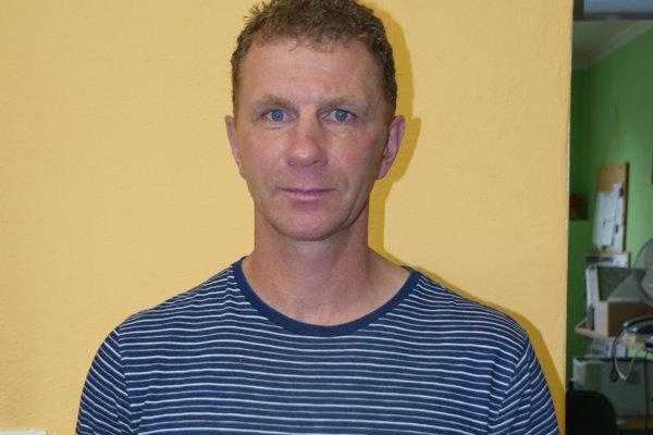 Štefan Kavuliak, tréner TJ Slovan Skalité.