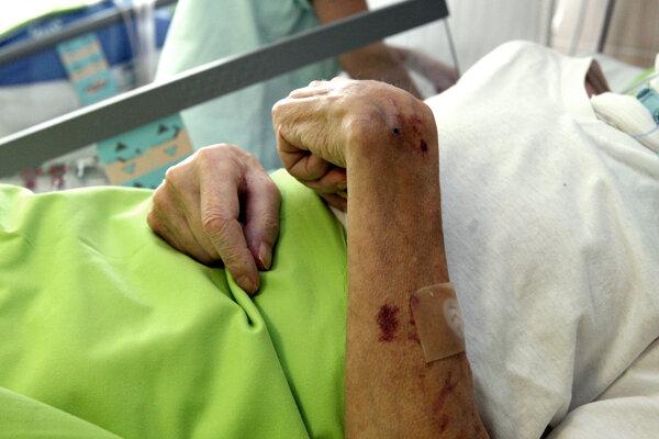 Horúce dni horšie prežívali aj hospitalizovaní pacienti vKysuckej nemocnici.