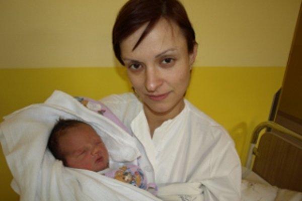 Ivanka s mamou Monikou.