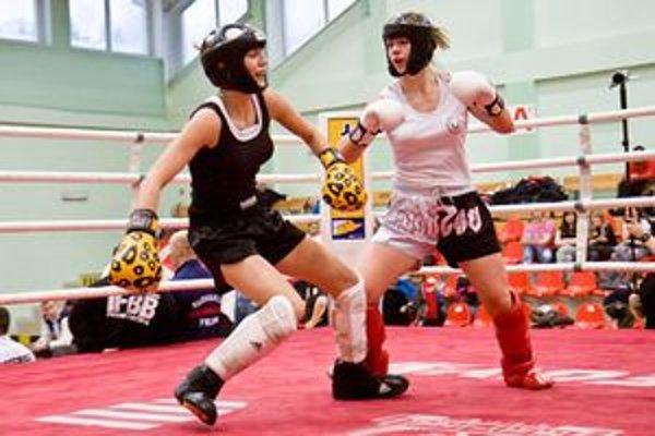 Dominika Brieniková (v bielom) si vybojovala dve druhé miesta.