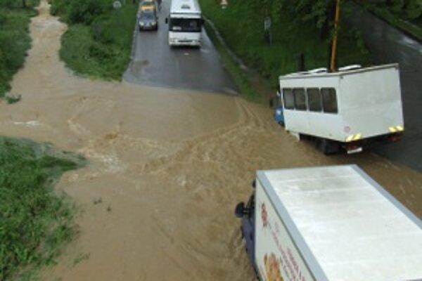 Najväčšia povodeň bola v týchto miestach v roku 2009.