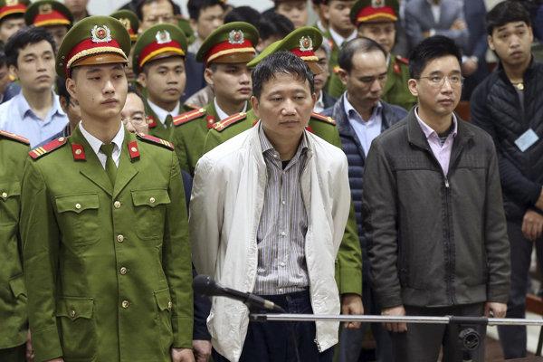 Unesený Trinh Xuan Thanh odsúdený na doživotie pred súdom v Hanoji.