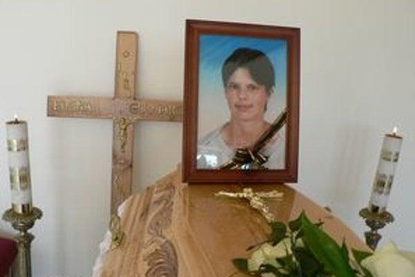 Zosnulá Elena Gudjaková.