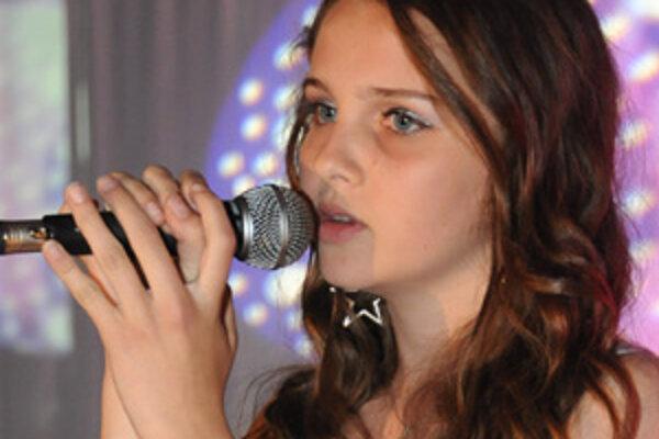 Budúca speváčka.
