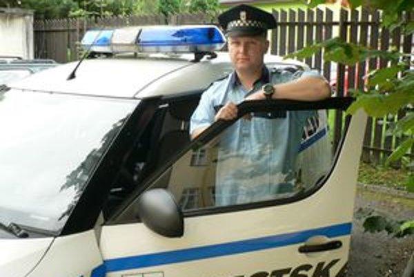 Peter Uhrina, šéf dolnokubínskej mestskej polície.