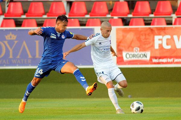 Frank Castaňeda strelil jediný gól Senice.