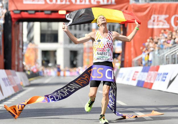 Koen Naert vyhral mužský maratón.