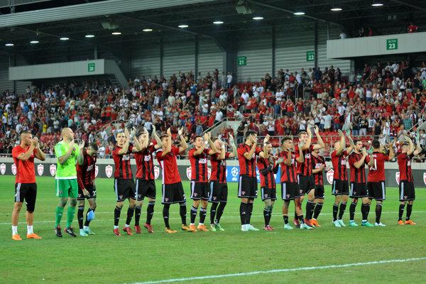 Futbalisti FC Spartak Trnava.