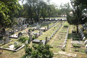 Na starom cintoríne už nie sú voľné miesta.