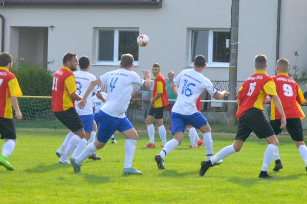 V Hornej Súči padali iba vlastné góly.