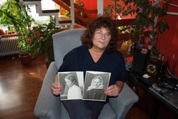 Marta Cisáriková, rodená Lajmonová, predstavovala na 10-korunáčke dievča 60. rokov - malú pionierku.