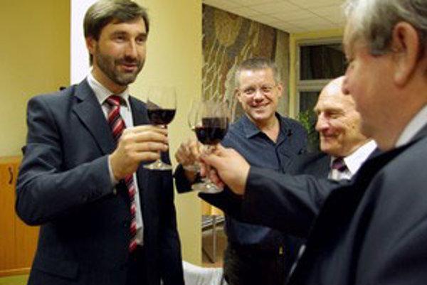 Juraj Blanár mal v noci dôvod na radosť.