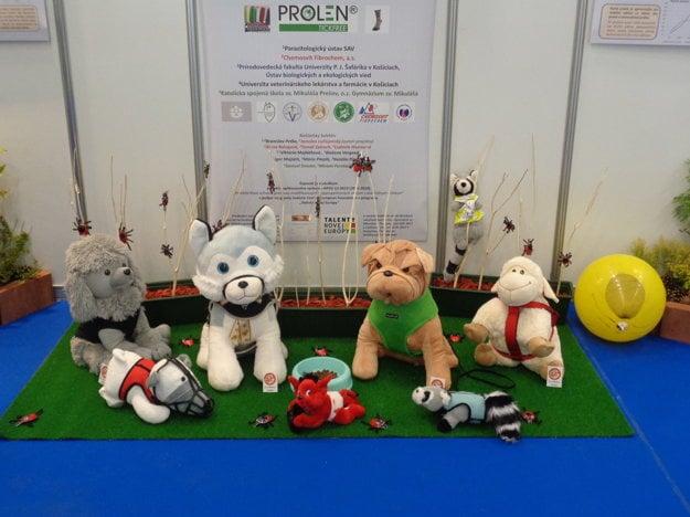 Popruhy pre zvieratá, ktoré budú prezentovať na Agrokomplexe.