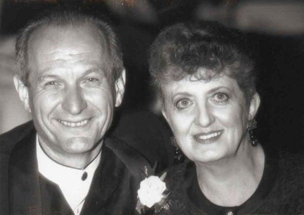 S manželkou Juditou, 1997.