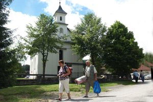 Ľudia Kaplnku sv. Anny podľa povesti postavili po veľkej búrke.
