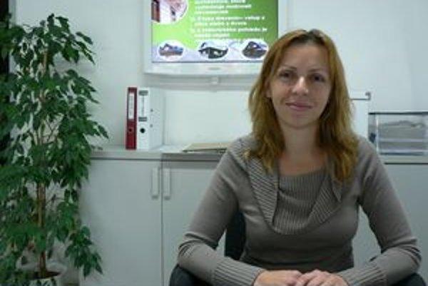 Mária Žondová. Ako prvá slovenská realitná maklérka sa stala členkou celosvetovej asociácie realitných kancelárií.