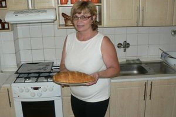 Svoj domáci chlieb pani Anna pomenovala podľa mamy, od ktorej sa ho naučila robiť.