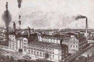 Košický pivovar a sladovňa na Moldavskej ceste. V roku 1910 odkúpil závod Konštantín Bauernebl.